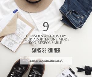 9 conseils et tutos gratuits pour nous habiller écoresponsable sans nous ruiner