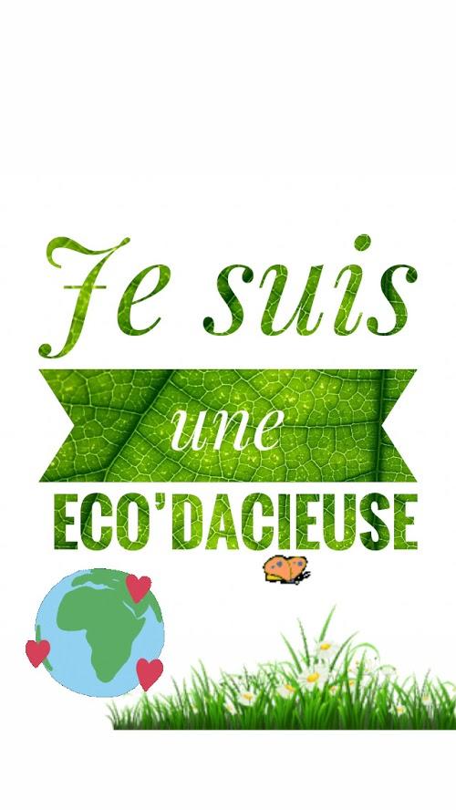 Eco'dacieuse est une femme audacieuse qui souhaite avoir un impact dans ce monde