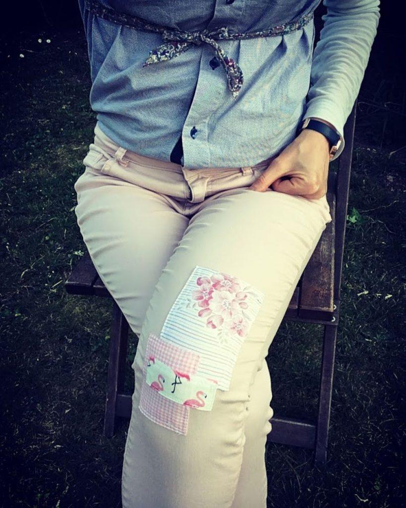 réparer un pantalon pour ne pas le jeter